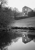 Universidad de Aarhus, Dinamarca Foto de archivo