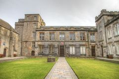Universidad de Aberdeen Imágenes de archivo libres de regalías