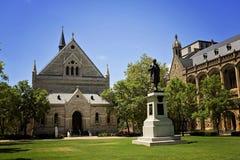 Universidad de Adelaide Fotografía de archivo libre de regalías
