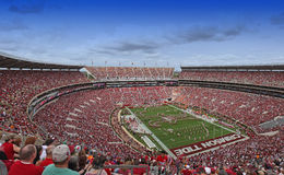 Universidad de Alabama Gameday Imagenes de archivo
