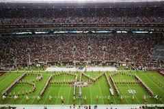 Universidad de Alabama Gameday Fotos de archivo libres de regalías