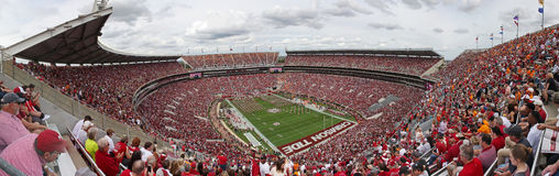 Universidad de Alabama Gameday Foto de archivo