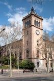 Universidad de Barcelona Foto de archivo