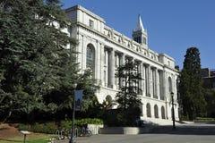 Universidad de Berkeley, bacteriología, los E.E.U.U. Imagen de archivo