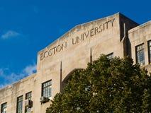 Universidad de Boston foto de archivo libre de regalías