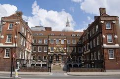 Universidad de brazos, ciudad de Londres Fotos de archivo