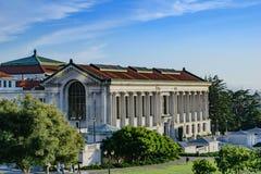 Universidad de California Berkeley Imágenes de archivo libres de regalías