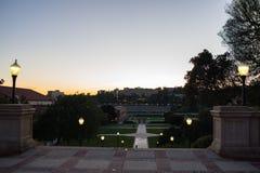 Universidad de California, campus de Los Ángeles Fotografía de archivo libre de regalías