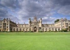 Universidad de Cambridge Imágenes de archivo libres de regalías