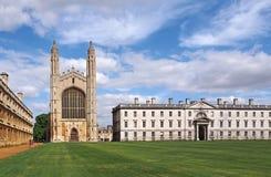 Universidad de Cambridge, College de rey fotos de archivo libres de regalías