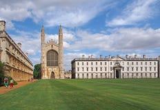 Universidad de Cambridge, College de rey foto de archivo libre de regalías