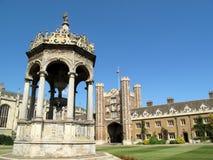 Universidad de Cambridge de la universidad de la trinidad Fotos de archivo libres de regalías
