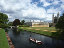 Universidad de Cambridge, Inglaterra Foto de archivo