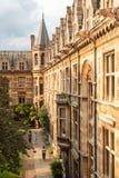 Universidad de Cambridge, Inglaterra Fotografía de archivo libre de regalías
