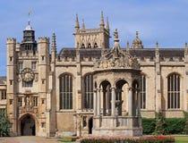 Universidad de Cambridge, universidad de la trinidad Foto de archivo