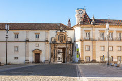 Universidad de Coímbra, Portugal Fotos de archivo