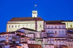 Universidad de Coimbra Fotografía de archivo