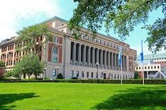 Universidad de Columbia Butler Library Fotografía de archivo libre de regalías