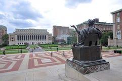 Universidad de Columbia en New York City imagenes de archivo