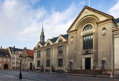 Universidad de Copenhague imagen de archivo