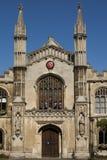 Universidad de Corpus Christi en Cambridge Fotografía de archivo libre de regalías