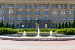 Universidad de Daugavpils de Letonia Fotos de archivo libres de regalías