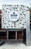 Universidad de Deakin en Geelong Fotos de archivo libres de regalías
