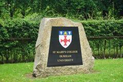 Universidad de Durham, Reino Unido Imágenes de archivo libres de regalías