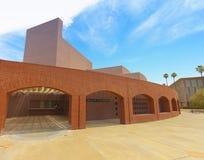 Universidad de estado de Arizona Galvin Playhouse, Tempe, Arizona imagen de archivo libre de regalías