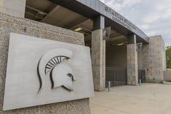 Universidad de estado de Michigan Spartan Stadium imágenes de archivo libres de regalías