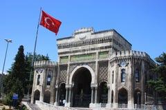 Universidad de Estambul Imagen de archivo libre de regalías