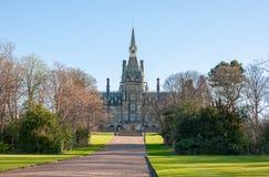 Universidad de Fettes en Edimburgo Imágenes de archivo libres de regalías