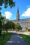Universidad de Georgetown en Washington DC foto de archivo