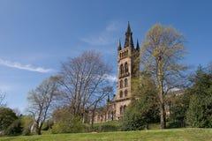 Universidad de Glasgow Fotografía de archivo