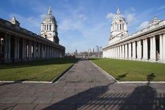 Universidad de Greenwich Foto de archivo