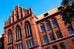 Universidad de Grudziadz, Polonia Fotos de archivo libres de regalías