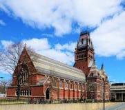 Universidad de Harvard pasillo conmemorativo foto de archivo libre de regalías
