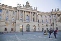 Universidad de Humboldt de Berlín, Alemania fotos de archivo libres de regalías