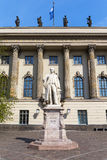 Universidad de Humboldt de Berlín, Alemania fotografía de archivo libre de regalías