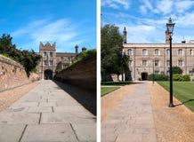 Universidad de Jesús, Cambridge Fotografía de archivo libre de regalías