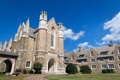 Universidad de la baya de los edificios de Ford Foto de archivo libre de regalías