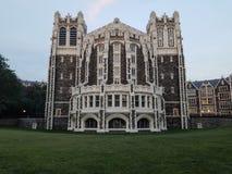 Universidad de la ciudad foto de archivo