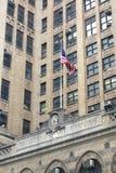 Universidad de la ciudad de Nueva York Fotografía de archivo libre de regalías