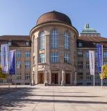Universidad de la entrada de Zurich Imagen de archivo libre de regalías
