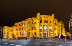 Universidad de la facultad de derecho de Belgrado fotografía de archivo libre de regalías