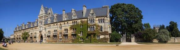 Universidad de la iglesia de Cristo en la Universidad de Oxford Imagenes de archivo