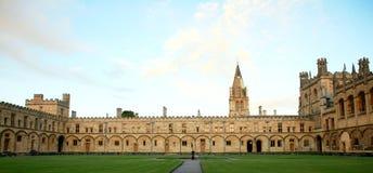 Universidad de la iglesia de Cristo, Oxford Imágenes de archivo libres de regalías