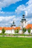Universidad de la jesuita en Kutna Hora Imágenes de archivo libres de regalías