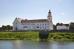 Universidad de la jesuita en Orsha belarus imagen de archivo