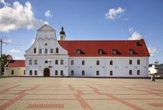Universidad de la jesuita en Orsha belarus foto de archivo